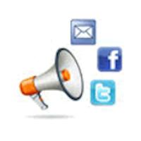 What we do: Social media