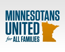 Custom peer to peer fundraising on Salsa for Minnesotans United for All Families