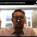 How to get your names from an Action Network sponsored action